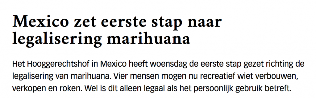 legale marihuana