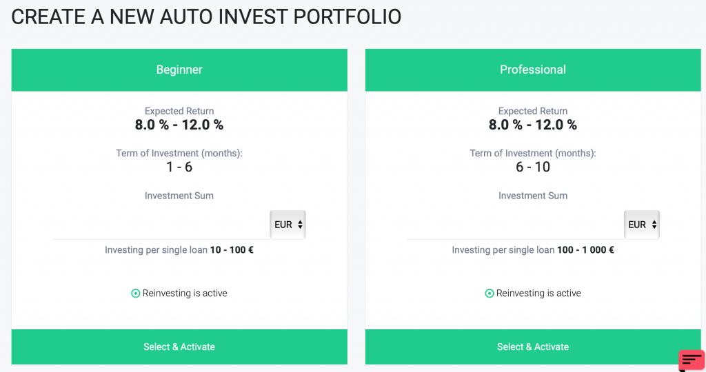 Fast Invest Auto invet